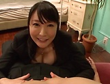 Naughty milf has her shaved pussy slammed picture 11