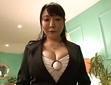 Lovie rocks her partner's sexual world POV