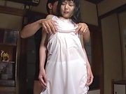 Lovely foxy princess Nagomi bonked hard and deep
