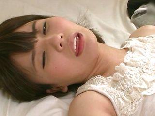 Kurii Mii got her shaved pussy ravaged