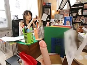 Small-tittied Asian beauty Ootori Kaname fucked in all positions