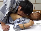 Mature Japanese woman is having wild sex picture 9