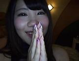 Rian Natsu performs a superb blowjob