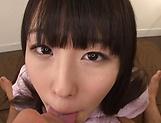 POV scene involving hot Asian beauty Tshuchiya Asami