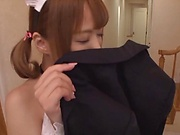 Mind-blowing sex with busty cosplay minx Rika Hoshimi
