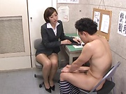 Seductive sweet milf gets her muff drilled by a young stud
