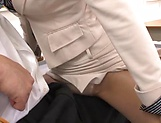 Spicy Asian teacher Wakana Nao get freaky with a student picture 13