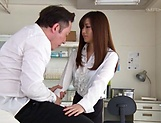 Sexy Asian teacher Aoyama Hana gets a rough fucking
