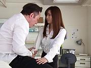Hot luscious teacher Aoyama Hana loves a fuck