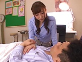 Hot teacher from Tokyo Aizawa Maria enjoys hardcore mmf sex picture 6