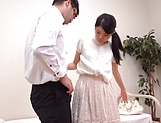 Horny Saitou Yuko gets her sexual fantasies fullfilled picture 12