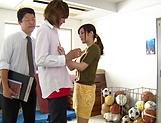 Aoyama Hana ,shows her wang engulfing skills