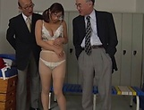 Horny Asian milf Miyabe Suzuka  is also sex teacher picture 14