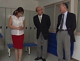 Horny Asian milf Miyabe Suzuka  is also sex teacher picture 2