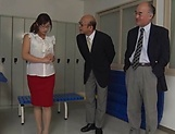 Horny Asian milf Miyabe Suzuka  is also sex teacher picture 3