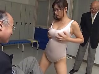 Horny Asian milf Miyabe Suzuka  is also sex teacher