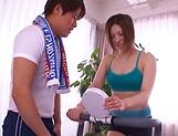 Busty Asian teacher gets milf tits fondled