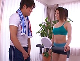 Busty Asian teacher gets milf tits fondled picture 11
