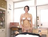 Hardcore pounding for sexy babe Oda Mako