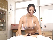 Hardcore pounding for sexy babe Oda Mako