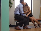 Petite love Ichinose Miki enjoys a wild hardcore office drill picture 11