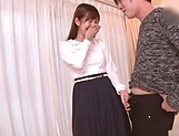 Japanese teen is sucking teacher's dick picture 12