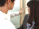 Mature teacher, Kitakawa Reiko had sex picture 12