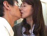 Mature teacher, Kitakawa Reiko had sex picture 13