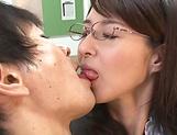 Mature teacher, Kitakawa Reiko had sex picture 15