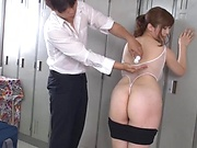 Seductive goddess Nakamura Chie showing off her sexy body
