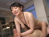 Nikaidou Yuri enjoys creampie after a mind blowing fuck