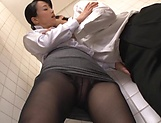 Ishihara Kyouka enjoys sex in toilet picture 13