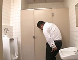 Ishihara Kyouka enjoys sex in toilet picture 3