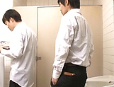 Ishihara Kyouka enjoys sex in toilet picture 5