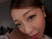 Kashii Ria has a POV porn video