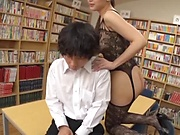 Kashii Ria is a smoking hot milf