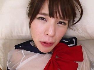 Sporty Tokyo girl Yahiro Mai fucks her lover incredibly hard