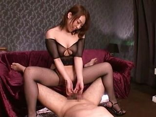 Charming girl Hachino Tsubasa gets thrilled by amazing sex