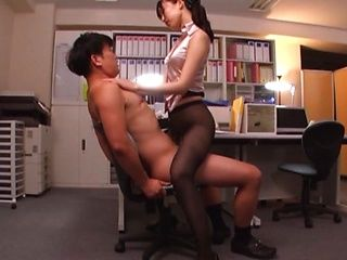 Kurokawa Sumire got fucked hard at work
