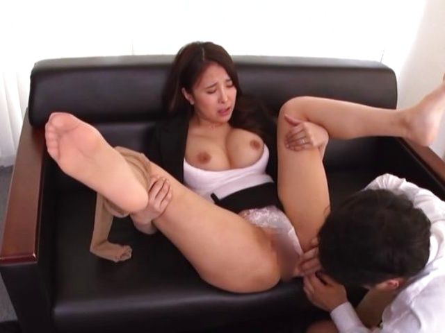 Japanese Big Tits Office