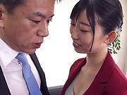 Kurokawa Sumire got a massive creampie
