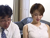 Asian hottie with a shaved pussy Kimijima Mio fucks insanely gets creamed picture 11