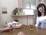 Japanese amateur babe Hifumi Rin gets her dripping wet pussy banged