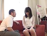 Dark-haired Japanese AV model Hifumi Rin fucks without limits