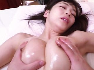 Steaming hot Japanese babe Hifumi Rin gets her shaved pussy toyed