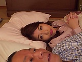 Kudo Manami gets her shaved pussy licked